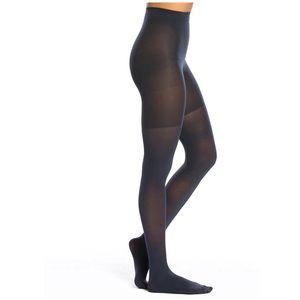 SPANX Nightcap Navy Luxe Leg Tights Size E, NWT